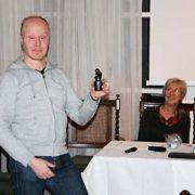 Frans Van Besien wint dictee Delft