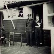 De marechausseepost bij Essen, 1920