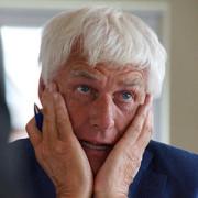 Bert Jansen is niet verheugd over zijn score.