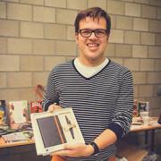 De winnaar bij de studenten in Leuven: Jasper Van Loy