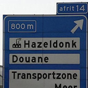 De_grensovergang_bij_Hazeldonk